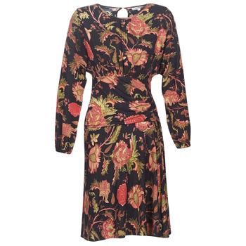 vaatteet Naiset Lyhyt mekko Derhy BANQUISE Musta / Monivärinen