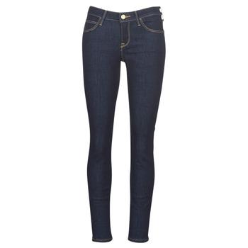 vaatteet Naiset Skinny-farkut Lee SCARLETT RINSE Sininen