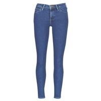 vaatteet Naiset Slim-farkut Lee SCARLETT STONE MILTONA Sininen
