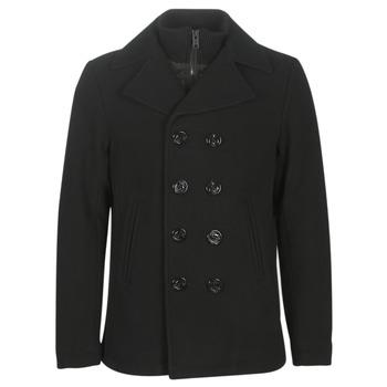 vaatteet Miehet Paksu takki Schott CYCLONE3 Black