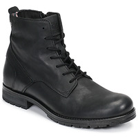kengät Miehet Bootsit Jack & Jones JFW ORCA LEATHER Black