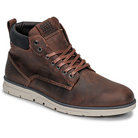 kengät Miehet Bootsit Jack & Jones JFW TUBAR LEATHER Brown