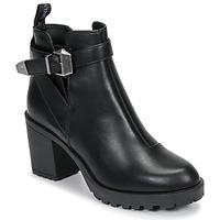 kengät Naiset Nilkkurit Only BARBARA HEELED Black