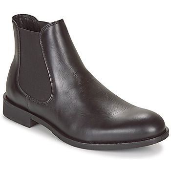 kengät Miehet Bootsit Selected LOUIS LEATHER CHELSEA Black