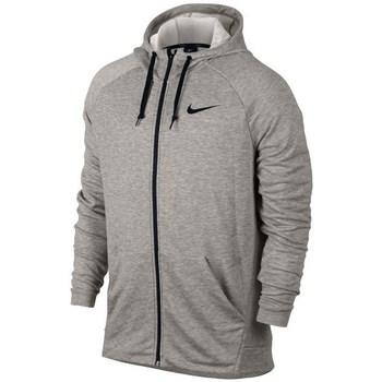 vaatteet Miehet Svetari Nike Dry FZ Fleece Hoodie Trening Harmaat