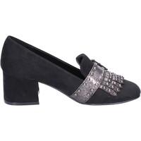 kengät Naiset Mokkasiinit Nacree BR43 Musta