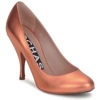 kengät Naiset Korkokengät Rochas RO18061-90 Matalli-oranssi