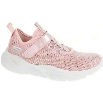 kengät Tytöt Matalavartiset tennarit Skechers Meridian Best Intent LT Vaaleanpunaiset