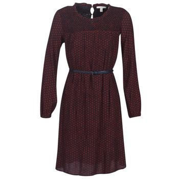 vaatteet Naiset Lyhyt mekko Esprit 099EE1E015-622 Punainen