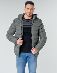 vaatteet Miehet Toppatakki Geographical Norway BALANCE-GRIS-FONCE Grey