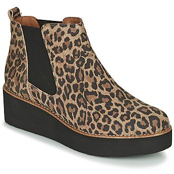 kengät Naiset Bootsit Fericelli LORNA Brown