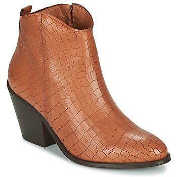 kengät Naiset Nilkkurit Fericelli LISA Brown