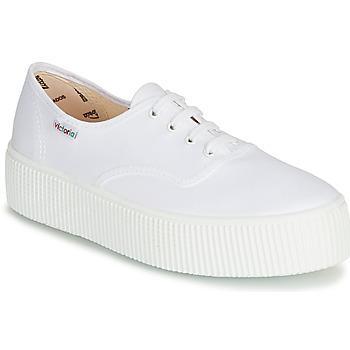 kengät Naiset Matalavartiset tennarit Victoria 1915 DOBLE LONA White