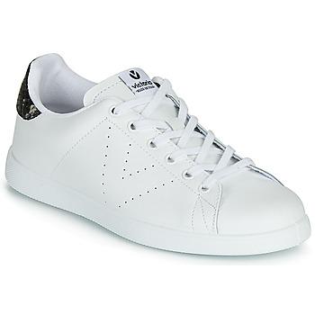 kengät Naiset Matalavartiset tennarit Victoria TENIS PIEL White