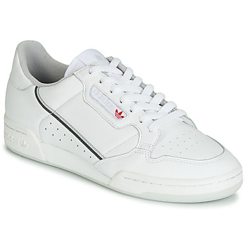 kengät Matalavartiset tennarit adidas Originals CONTINENTAL 80 White