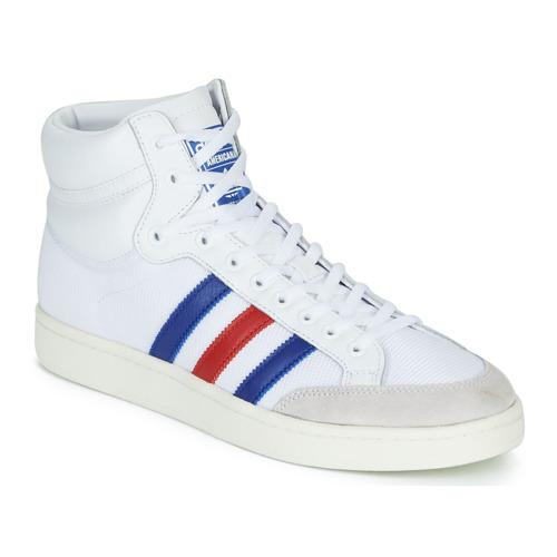 kengät Korkeavartiset tennarit adidas Originals AMERICANA HI Valkoinen / Sininen / Punainen