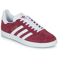 kengät Matalavartiset tennarit adidas Originals GAZELLE Viininpunainen