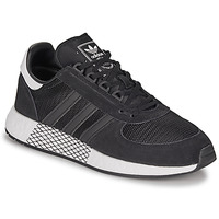 kengät Miehet Matalavartiset tennarit adidas Originals MARATHON TECH Black