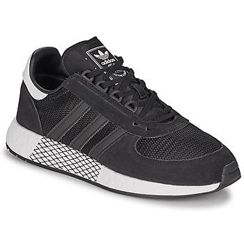kengät Miehet Matalavartiset tennarit adidas Originals MARATHON TECH Black