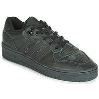 kengät Miehet Matalavartiset tennarit adidas Originals RIVALRY LOW Black