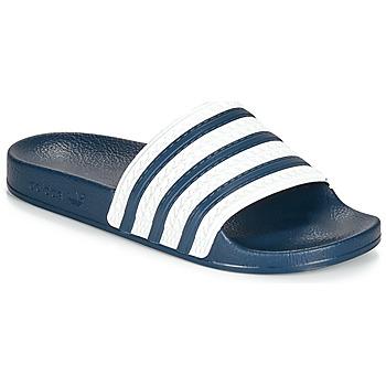 kengät Rantasandaalit adidas Originals ADILETTE Blue / White