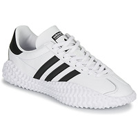 kengät Miehet Matalavartiset tennarit adidas Originals COUNTRYXKAMANDA White / Black