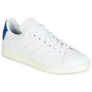 kengät Matalavartiset tennarit adidas Originals STAN SMITH Valkoinen / Sininen
