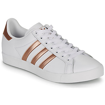 kengät Naiset Matalavartiset tennarit adidas Originals COAST STAR W White / Bronze