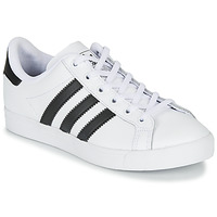 kengät Lapset Matalavartiset tennarit adidas Originals COAST STAR J White / Black