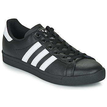 kengät Lapset Matalavartiset tennarit adidas Originals COAST STAR J Black / White