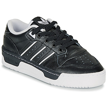 kengät Lapset Matalavartiset tennarit adidas Originals RIVALRY LOW J Black