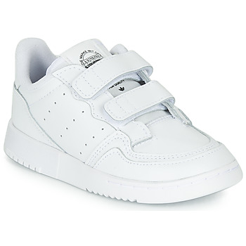 kengät Lapset Matalavartiset tennarit adidas Originals SUPERCOURT CF I White