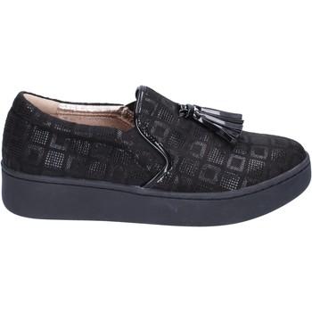 kengät Naiset Tennarit Uma Parker slip on camoscio sintetico Nero