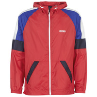 vaatteet Miehet Tuulitakit Levi's COLORBLOCK WINDRUNNER Red / Blue