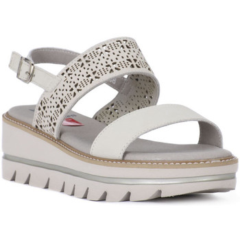 kengät Naiset Sandaalit ja avokkaat CallagHan GREIGE LONG BEACH Grigio