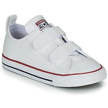 kengät Lapset Matalavartiset tennarit Converse CHUCK TAYLOR ALL STAR 2V - OX Valkoinen