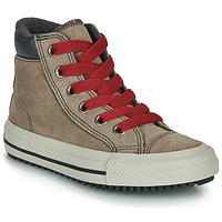 kengät Korkeavartiset tennarit Converse CHUCK TAYLOR ALL STAR PC BOOT BOOTS ON MARS - HI Brown