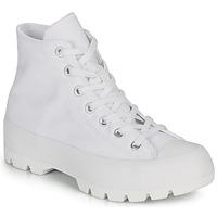kengät Naiset Korkeavartiset tennarit Converse CHUCK TAYLOR ALL STAR LUGGED BASIC CANVAS White