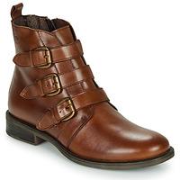 kengät Naiset Bootsit Betty London LENA Cognac