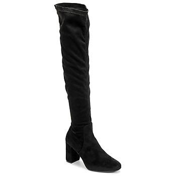 kengät Naiset Ylipolvensaappaat Betty London LAHNA Black