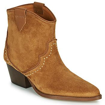 kengät Naiset Nilkkurit Betty London LOUELLA Camel