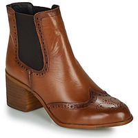 kengät Naiset Nilkkurit Betty London LARISSA Cognac