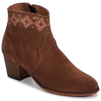 kengät Naiset Nilkkurit Betty London LAURE-ELISE Camel