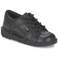 kengät Lapset Matalavartiset tennarit Kickers KICK LOTOE Black