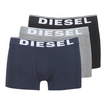 Alusvaatteet Miehet Bokserit Diesel DAMIEN Grey / Laivastonsininen / Black