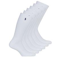 Asusteet / tarvikkeet Miehet Sukat Polo Ralph Lauren ASX110 6PK CR PP-CREW-6 PACK White