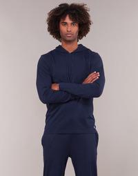 vaatteet Miehet Svetari Polo Ralph Lauren L/S HOODIE-HOODIE-SLEEP TOP Laivastonsininen