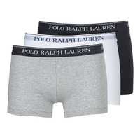 Alusvaatteet Miehet Bokserit Polo Ralph Lauren CLASSIC-3 PACK-TRUNK Black / White / Grey
