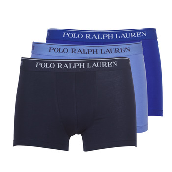 Alusvaatteet Miehet Bokserit Polo Ralph Lauren CLASSIC-3 PACK-TRUNK Sininen