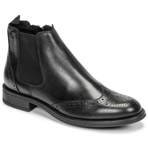 kengät Miehet Bootsit Carlington LEVOTO Black
